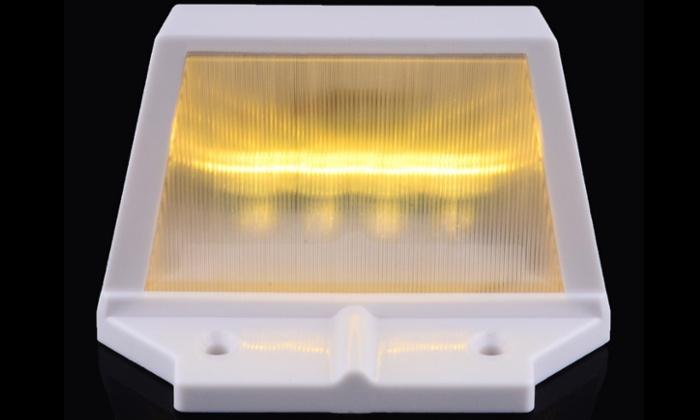 Gardman Solar Wall Lights : Solar Energy Wall Lamp Groupon