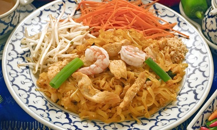 $12 for $ Worth of Thai and Peruvian Food at A Good Thai & Peruvian Restaurant
