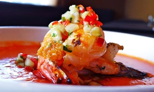62 Restaurant and Wine Bar: Three-Course Italian Dinner with Wine for Two at 62 Restaurant and Wine Bar (Up to 44% Off)