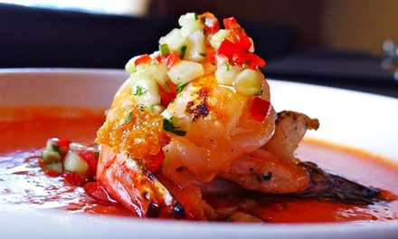 Three-Course Italian Dinner with Wine for Two at 62 Restaurant and Wine Bar (Up to 41% Off)