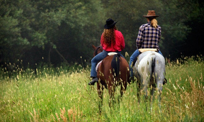 Triangle T Guest Ranch - Benson: 60-Minute Horseback Ride for Two or Four at Triangle T Guest Ranch (Up to 53% Off)