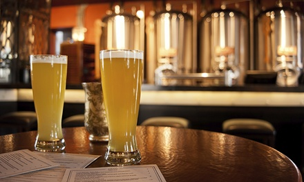 Brewery Package for Two or Four with Tour, Samples, and Souvenirs at Boatyard Brewing Company (Up to 43% Off)