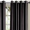 Bella Luna Faux-Silk Foam-Back Blackout Curtains