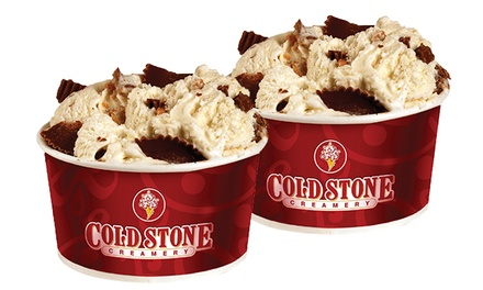 $12.75 for Three Groupons, Each Good for Two Like It-Sized Ice Creams at Cold Stone Creamery ($22.74 Value)