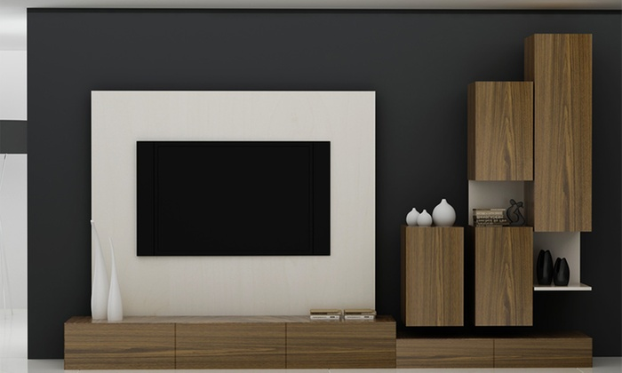 Custom-Made Wall Units | Groupon Goods