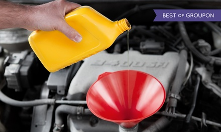 One or Three Oil-Change Packages at OK Tire 99th Street (Up to 73% Off). Three Options Available.