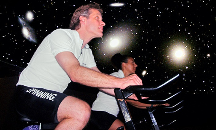 Image Cycling - Centerport: Themed Planetarium Cycling Class from Image Cycling (43% Off). Eight Options Available
