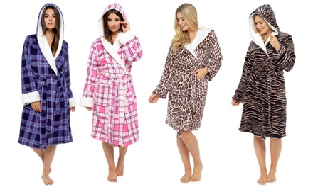 One or Two Women's Printed Supersoft Fleece Robes