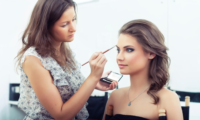 The Makeup Zone - Plano: Makeup Lesson and Application from The Makeup Zone (44% Off)