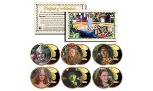 Wizard of Oz Kansas Statehood Quarter (6-Coin Set)