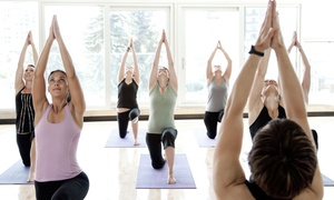 Bikram Yoga Boca Raton: Five Classes, or One Month of Unlimited Classes, at Bikram Yoga Boca Raton (Up to 64% Off)