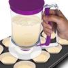 Pan Cupcake Batter Dispenser with 4-Cup Capacity
