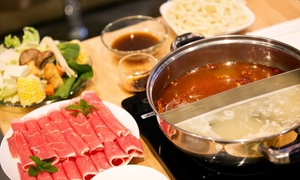 Q Hot Pot Japanese Fondue & Asian Tapas Bar: Asian-Fusion Cuisine at Q Hot Pot Japanese Fondue & Asian Tapas Bar (Up to 45% Off). Three Options Available.