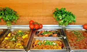 Restaurant Kabul: Afghanisches All-you-can-eat-Buffet mit Dessert für 2, 4 oder 6 Gäste im Restaurant Kabul ab 9,90 € (bis zu 54% sparen*)