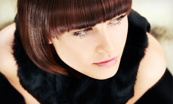 Impulse Salon - Northeast Cobb: Haircut Package with Style and Optional Partial or Full Highlights at Impulse Salon (Up to 74% Off)