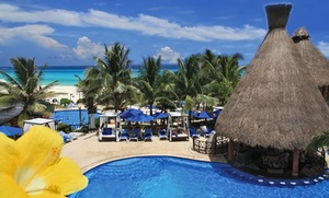 The Reef Playacar Resort and Spa: All-Inclusive Stay at The Reef Playacar Resort and Spa in Mexico. Dates into January. Includes Taxes and Hotel Fees.