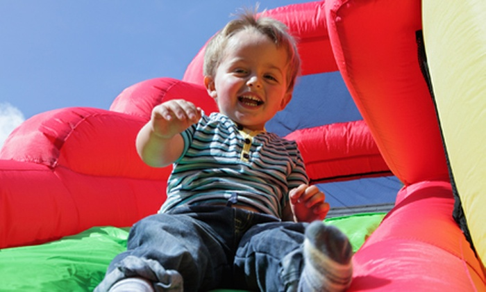 Desert Snow Inflatables - Phoenix: $159 for 10-Hour Bounce-House Rental with Concession Machine and Table Set from Desert Snow Inflatables ($414.75 Value)