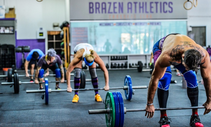 Brazen Athletics  - Multiple Locations: Five or 10 CrossFit Classes at Brazen Athletics (Up to 62% Off)