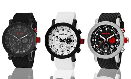 Red Line Compressor Men's Swiss Chronograph Watch