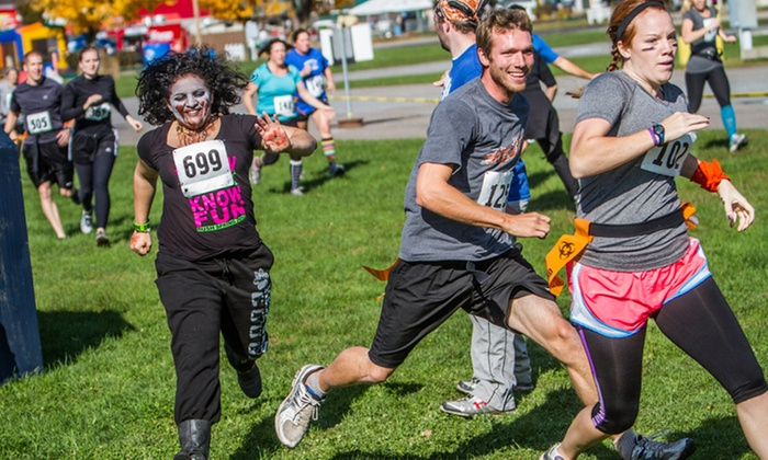Zombie Run Guardian Center - Perry: Zombie Run on Saturday, October 24, from Zombie Run Guardian Center – Perr, GA (Up to 34% Off)