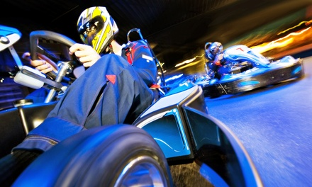 Go-Karting for 1, 2, or 4, Laser-Tag Package for 4, or Combo Package for 2 at Charleston Rush (Up to 52% Off)