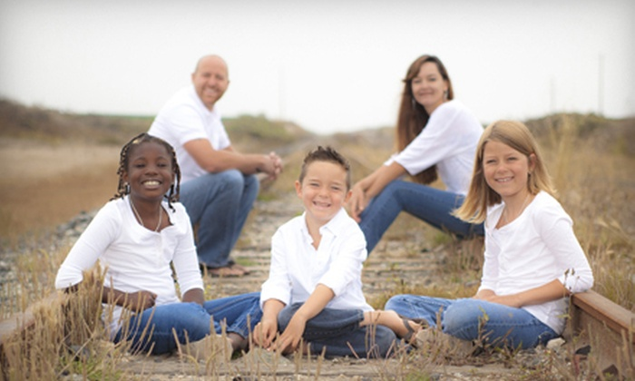 Jesse Gabriel Photography - Scotts Valley: $59 for a Photo Shoot for Up to Six with One Print or Credit at Jesse Gabriel Photography ($335 Value)