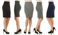 GROUPON: Sociology Knee-Length Pencil Skirt  Sociology Knee-Length Pencil Skirt