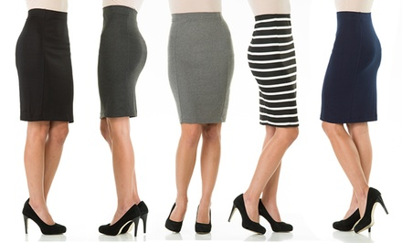 Sociology Knee-Length Pencil Skirt