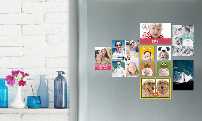 Customized Photo Magnets from Photobook America (Up to 67% Off). Five Options Available.