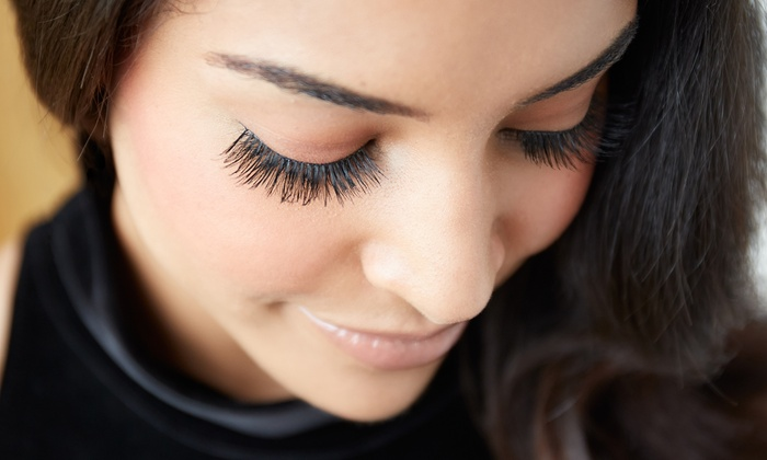 Zolasbeautylounge - Zola's Beauty Lounge: Full Set of Mink Lashes with Optional Fill or 3D Eyebrow Microblading at Zolasbeautylounge (Up to 56% Off)