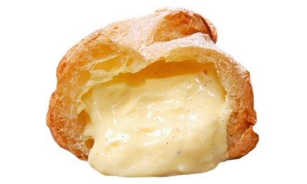 $12 for $20 Worth of Cream Puffs and Baked Goods at Beard Papas Garden Grove