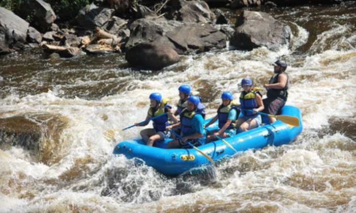 Appalachian Outdoors - 1: Whitewater Rafting for One, Two, or Six from Appalachian Outdoors in Hartford (Up to 57% Off)
