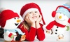 """Studio Art Maria - Centrepointe: One-Hour Holiday Photo Session for Up to 4 or 10 Subjects with One 8""""x10"""" Print at Studio Art Maria (Up to 80% Off)"""