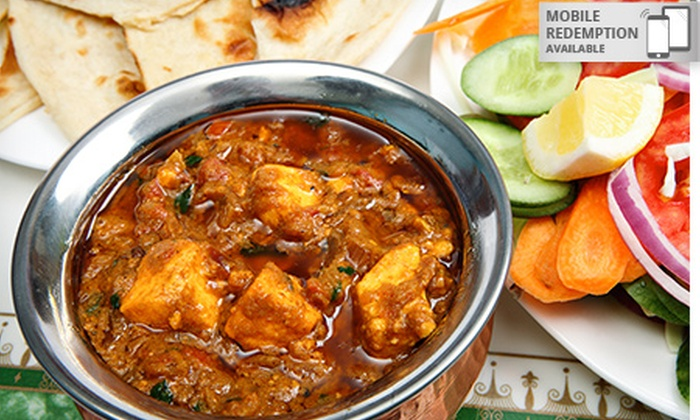 aroma the authentic indian cuisine in isaacs act groupon
