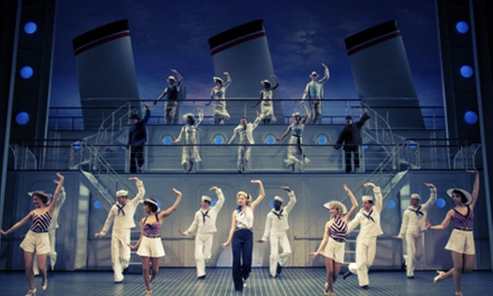 """Anything Goes"" - Downtown Toronto: ""Anything Goes"" at The Princess of Wales Theatre on August 20–25 (Up to 61% Off)"