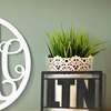 50% Off Wood Wall Monogram