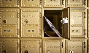 The UPS Store #1089: Six-Month Rental of Medium or Private Mailbox or $10 for $20 Worth of Supplies at The UPS Store #1089