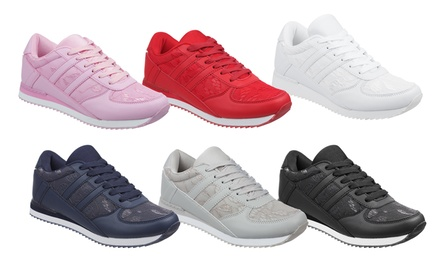 Women's Memory Foam Trainers in a Variety of Colours