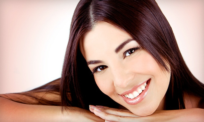 All About Smiles - Pike Creek Valley: Dental Exam, X-rays, Cleaning, and Optional In-Office Teeth-Whitening Treatment at All About Smiles (86% Off)