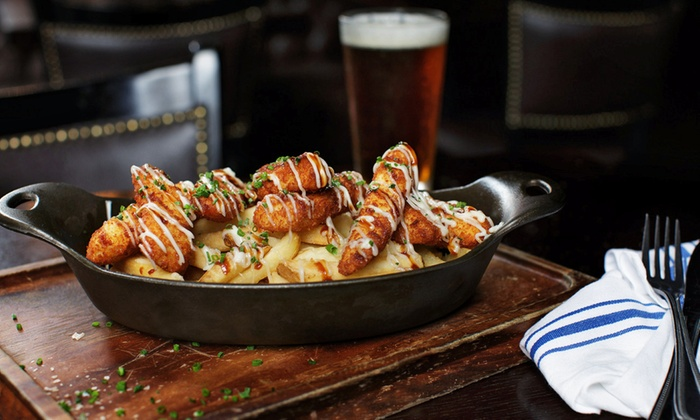 The Ainsworth Hoboken - Hoboken: Game-Watching Package with Appetizers, Beer, and Wine for 4, 6, 8, or 10 at The Ainsworth Hoboken (50% Off)