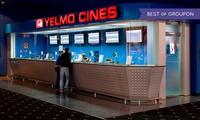 Una entrada a Yelmo Cines con opción a menú desde 5,20 € en 32 cines a elegir