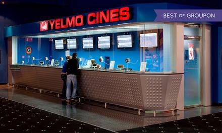 Una entrada a Yelmo Cines con opción a menú desde 4,95 € en 32 cines a elegir