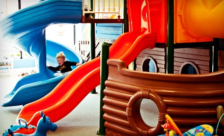 5 or 10 Open-Play Visits at Hooray for Play (Up to 56% Off)