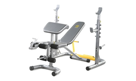 Gold 39 S Gym Xrs 20 Olympic Workout Bench Groupon