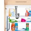 Adjustable Under-Sink Shelf Organizer Unit