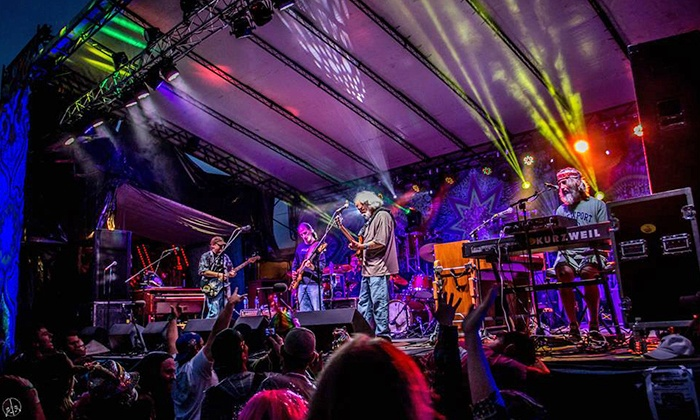 Forever Grateful- Grateful Dead Simulcast & Music Fest - Ives Concert Park: Grateful Dead Simulcast/Music Fest at Ives Concert Park with One Beer or Wine on 7/3 at 3 p.m. (Up to 36% Off)