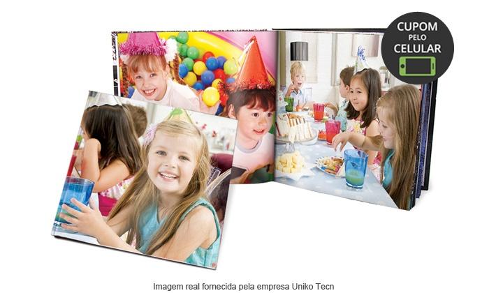 UNIKO TECN: Uniko: Festa de criança - Photobook Luxo com 46 páginas