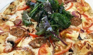 Capicola's Gourmet: Pizza and Drinks for One or Two or Pasta Meal for Two or Four at Capicola's Gourmet (Up to 43% Off)