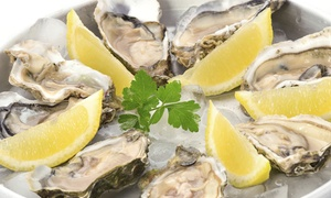 Atlantic Beer & Oyster: Champagne and Oysters Package for Two, Seafood for Two or Four at Atlantic Beer & Oyster (Up to 45% Off)