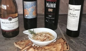 Weekday Or Weekend Wine Tasting With Appetizers For Two Or Four At Mount Palomar Winery (up To 50% Off)